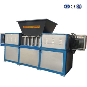 KEDA advanced technology single double shaft shredding shredder machinery for timber wood plastic bottle film metal aluminum