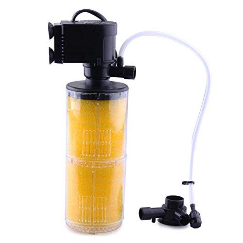 Pssopp Filtro Interno para Tanque de Acuario 1200//1500//1800 L//H Bomba de Filtro Interno Sumergible 3 en 1 para Tanque de Peces de Acuario Herramienta de ox/ígeno de 220 V un reemplazo de algod/ón