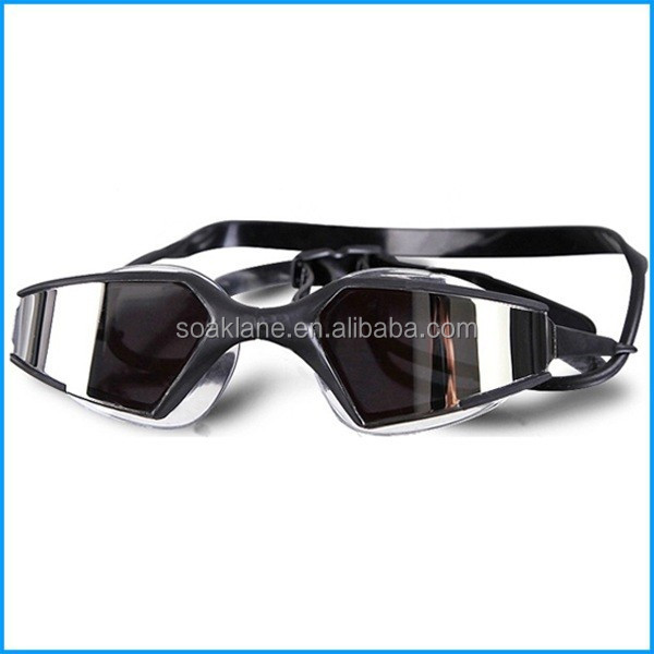 Factory Supply Anti-Fog Water Seal Mirrored Optical Swim Goggles With Degree