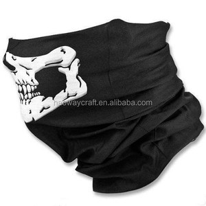 halloween skull party mask scary ghost scarf magic multifunctional outdoor bike headwear bandana