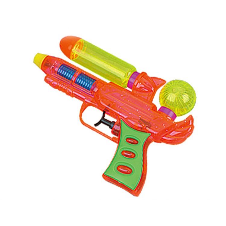 Cartoon Water Gun Plastic Toys Nerf Inflatable Pressure Gun Outdoor Fun  & Sports Toy Nerf
