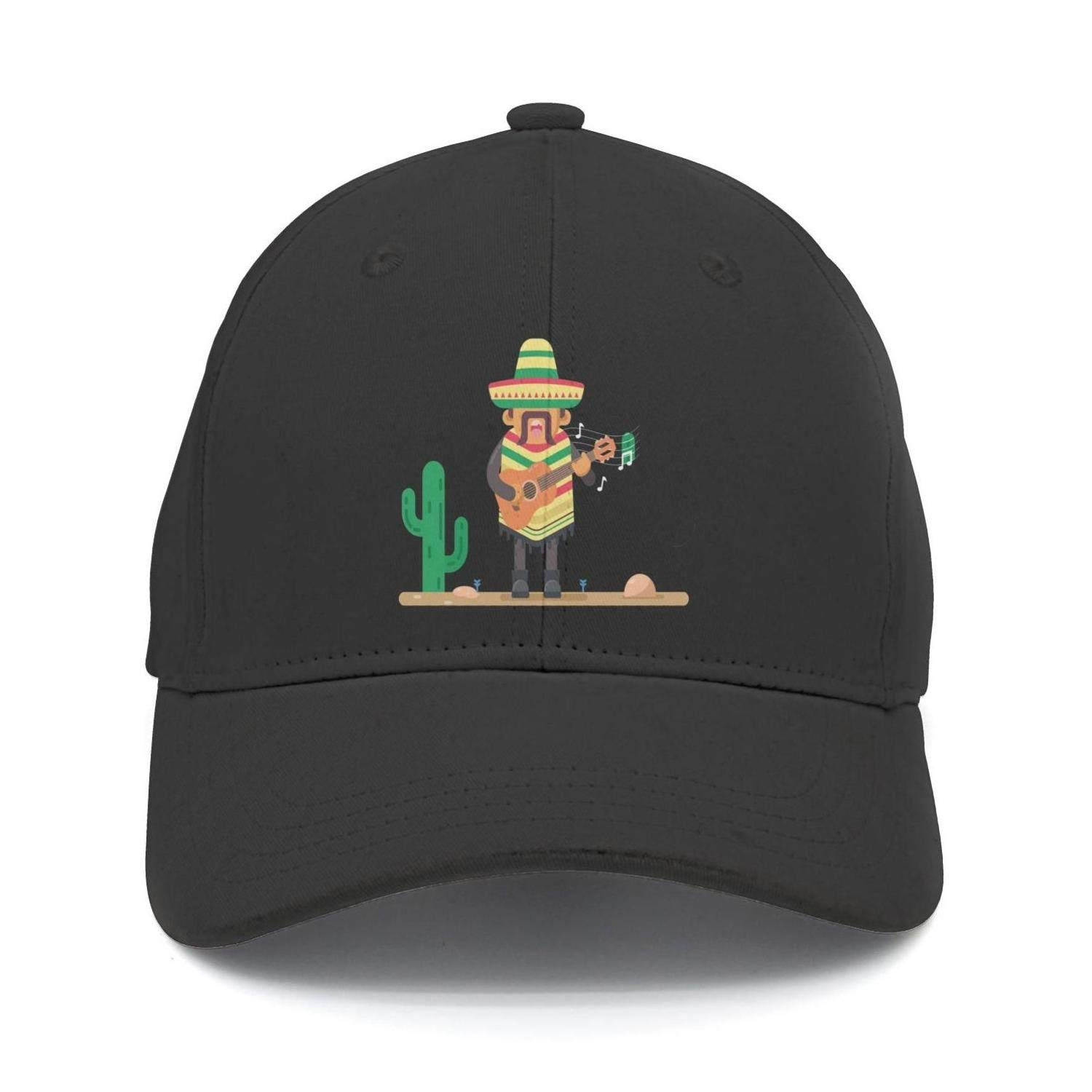 e2a806c7ebb Get Quotations · SNB WY Mexico Mexican cactus Baseball Hat Fitted Funny Cap  Adjustable