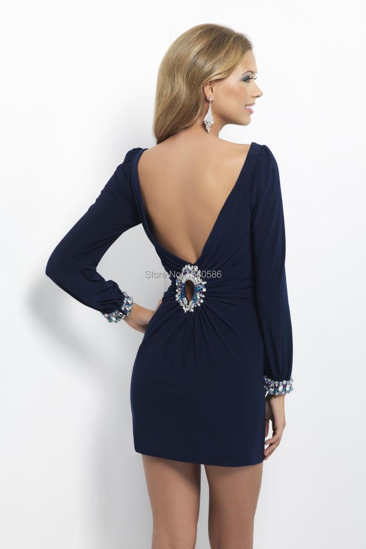 bf39a878b vestidos azul marino cortos