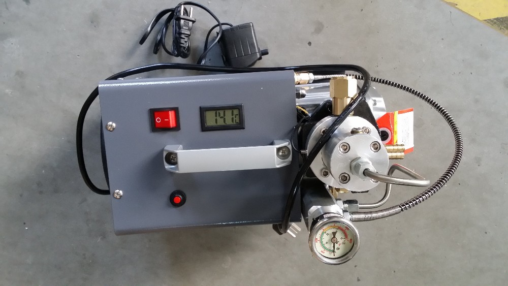 300bar Electric Air Compressor Motor Inflator Pcp High