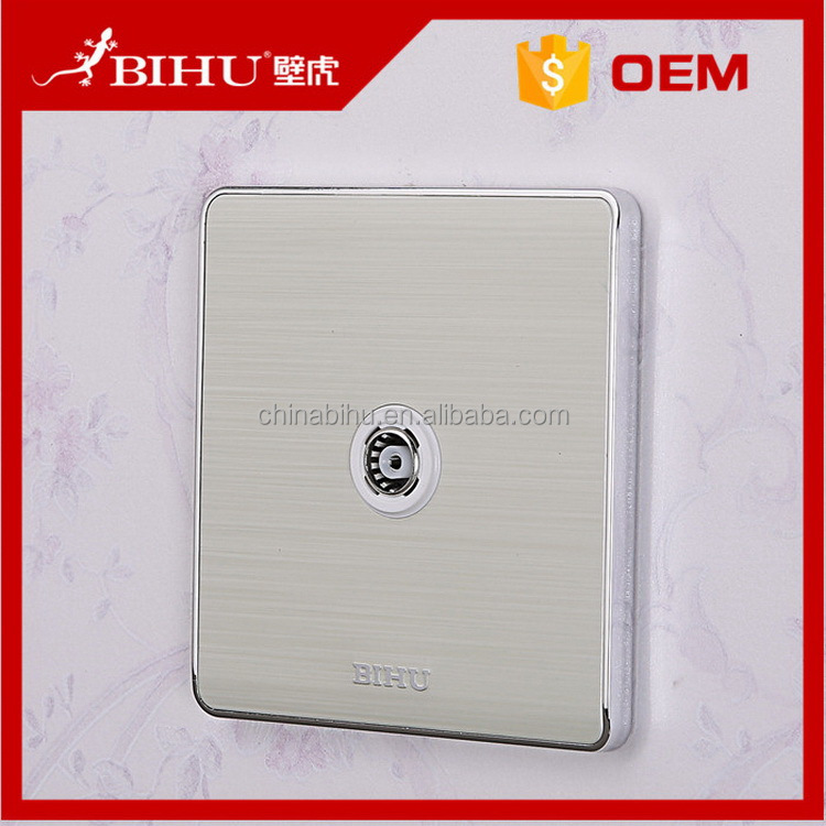 China manufactory best selling wall satellite and tv socket for sale
