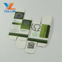 Cardboard 10Ml 20Ml Vial Packaging Pharmaceutical Medicine Paper Box
