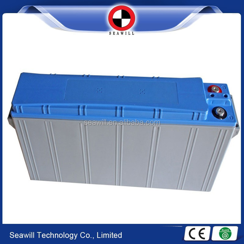 Telecom use front access terminal type lead acid battery 12v 155Ah