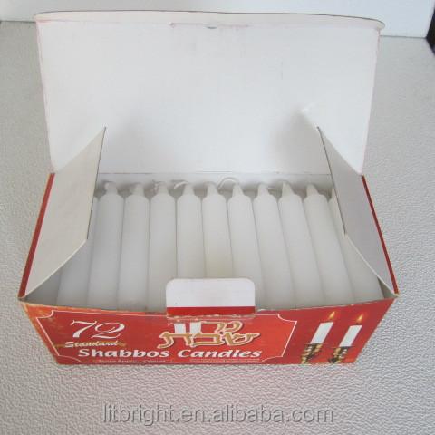 Vela religiosa shabat vela 72 unids caja walmart - Proveedores de velas ...