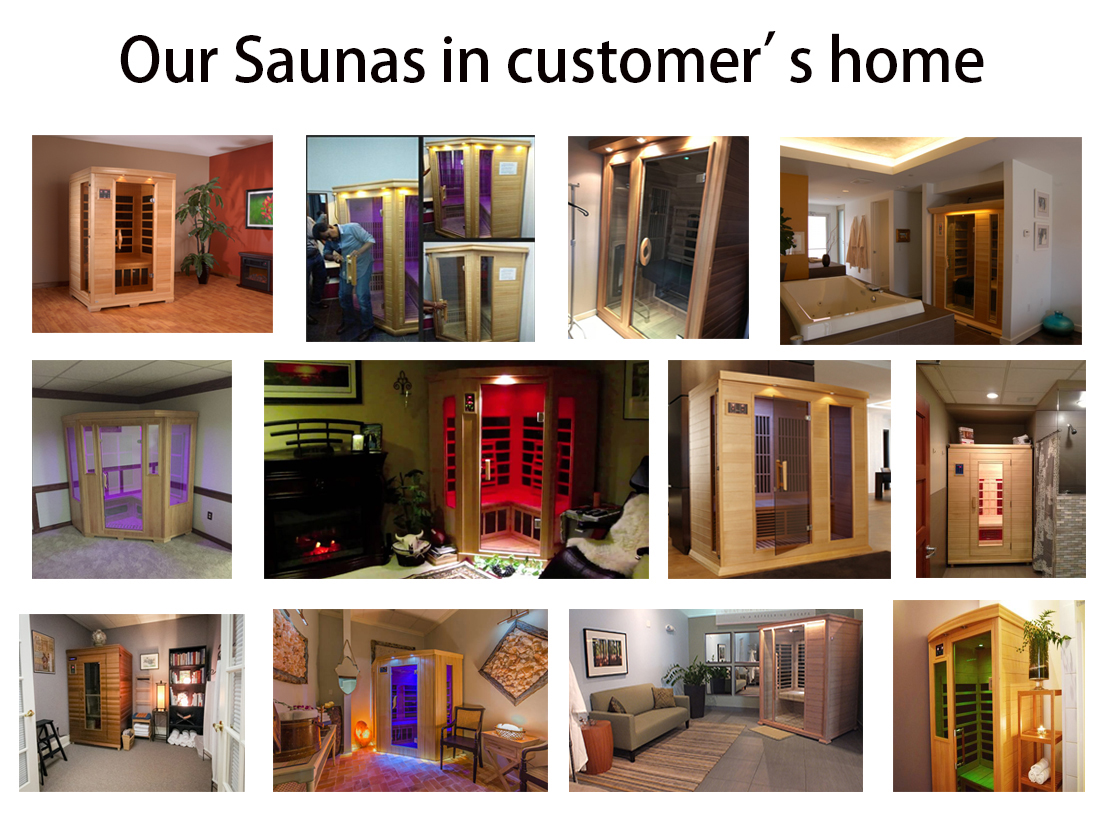 Gym equipment steam sauna far infrared sauna combined room for beauty spa equipment in Xuzhou