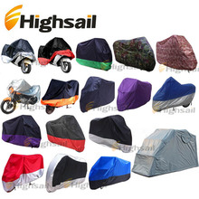 Polyester taffeta 190T Oxford 210D Motorcycle Cover Motorbike Cover