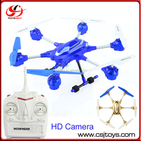 Camera Quadcopter 2.4GHZ 4.5CH Alloy 6 axis RC quadcopter W609-9 alloy rc helicopter