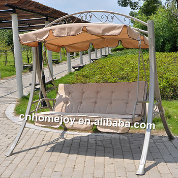 Hanging Canopy Swing Chairs Luxury Garden Seats