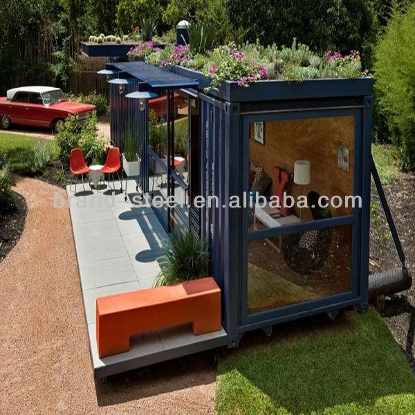 Einfache strand container 20ft fertighaus modular hause for Container fertighaus