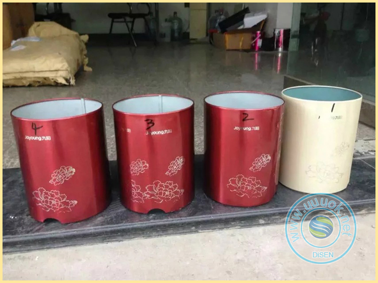 automatic cosmetic tubes mug bottle hot foil stamping machine for plastic bottles