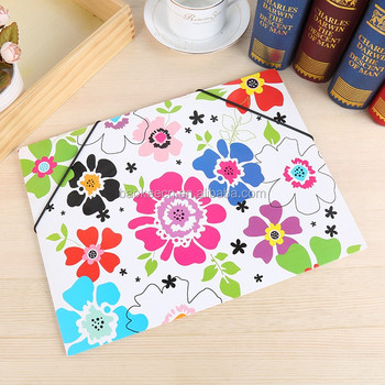 2018 lovely sleeve a4 mini 3 ring binder leather portfolio for