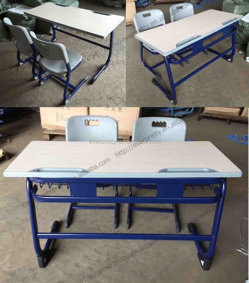 Modern Classroom Tables : Modern classroom furniture study table with pp chairs