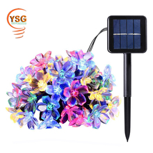 2017 New IP65 Waterproof Outdoor 2 Years Warranty Solar Powered Christmas Light