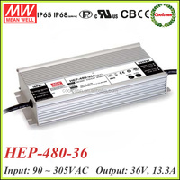 Meanwell HEP-480-36 dc 36v adjustable power supply