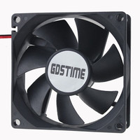 GDSTIME 80mm Silent Fan for Computer Cases and CPU Cooler