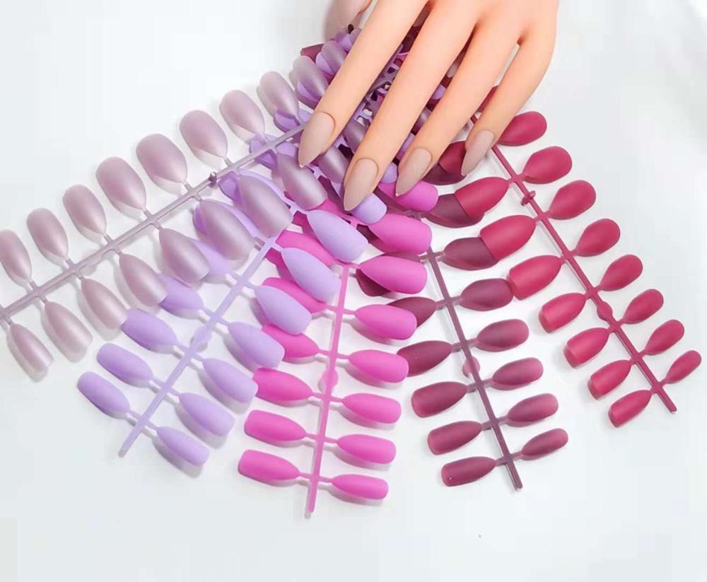 Matte false nail press on the nail artificial nails tips