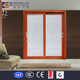 Rogenilan double glazing sliding glass door with built in blind aluminum roller shutter door