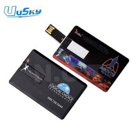 OEM Custom Logo Credit Card USB, Promotional Gifts USB Card, USB stick