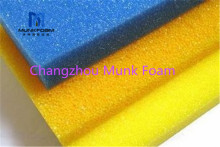 Fabrikant Leverancier Hot koop 10 PPI om 80 polyether polyurethaan filter spons reticulated foam