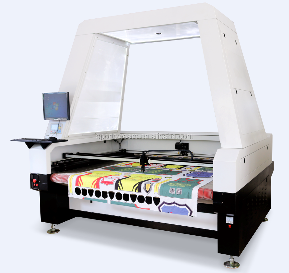 Auto-feeding Camera Positioning T Shirt Jeans Shoe Leather Fabric Co2 Laser  Printing Cutting Machine Price - Buy Cutting Machine,Co2 Laser Cutting