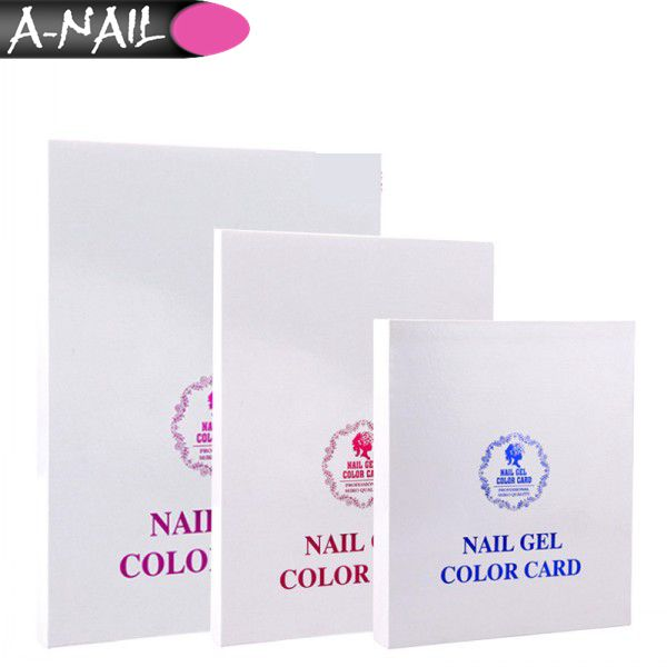 2017 Hot Sale Nail Tips Book For Nails Art Display Nail Gel Polish ...