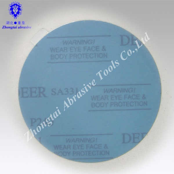 Factory Sale Flexible Brand Adhesive back sandpaper with hook and loop