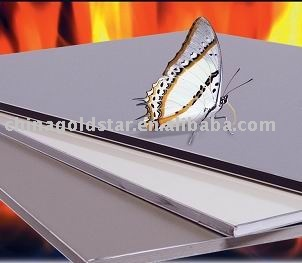 A2 fireproof core aluminum composite panel Foshan building ACM