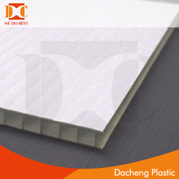 PP corrugated board pp light weight hollow sheet