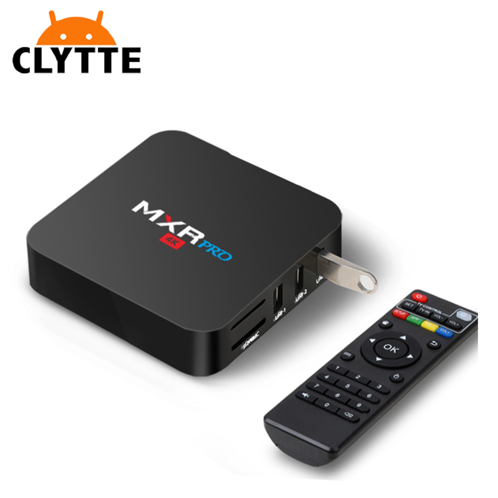 Clytte MXR PRO africa tv box oman RK3328 Supporta 4K WiFi bianco android desi tv box internet tv set top box