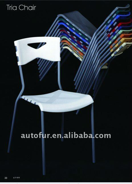 Multi Use Stackable Plastic Dining Chairs