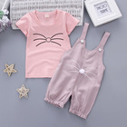 fashion quality children cheap designer toddlers baby clothes set private labels wholesale stock clothing