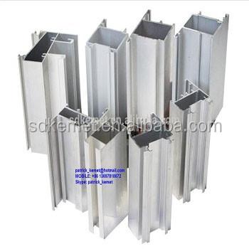 Argent Anodisé En Alliage Daluminium Fenêtre Profils Pour Le