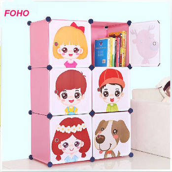 6 Cubes Bedroom Baby Wardrobe Closet For Clothes