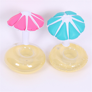 Customize floating cup holder Beer Cup Can Umbrella Holder for Pool Party