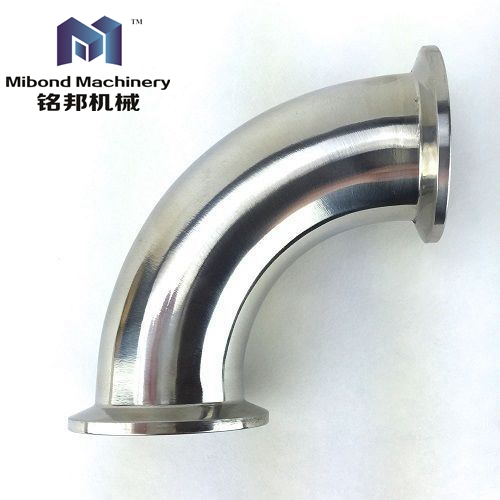 1-20 inch Sanitary Stainless Steel 304/316 90 Degree Dairy Tri Clamp Elbow/Bends Pipe Prices