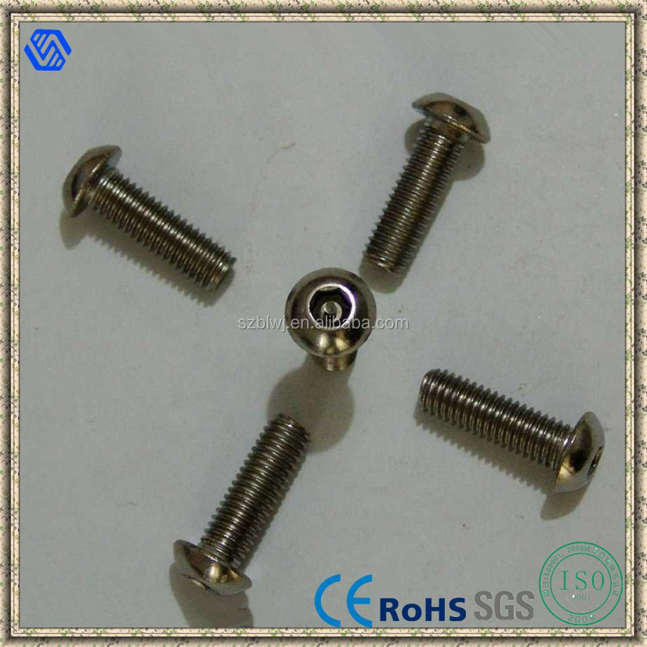 Pan Head Torx Screw Black Finish Torx Screws With Spanner