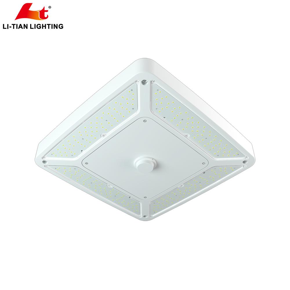 2019 Новый светодиодный светильник для АЗС ETL DLC светодиодный балдахин 75 Вт 100 Вт 150 Вт 200 Вт с люменом 140лм/Вт