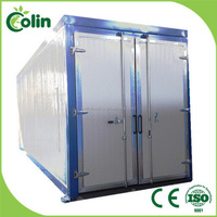 Quality assured good reputation industrial powder coating ovens to specification