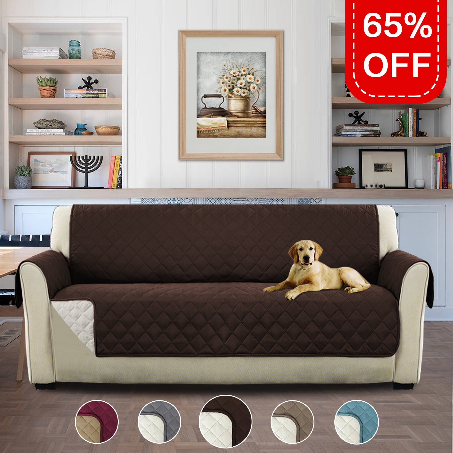 Admirable Buy Pet Friendly Plush Reversible Furniture Sofa Protector Gmtry Best Dining Table And Chair Ideas Images Gmtryco