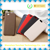 For iphone6 customized mobile phone leather case with print logo service