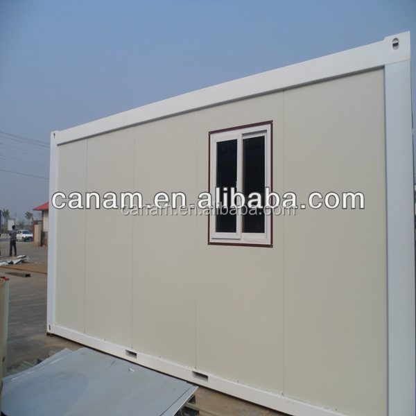 Prefabricated collapsible container folding container