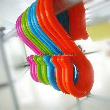 Sjaal Kleding Plastic S Vorm Haken Met Roterende Apparaat Buy