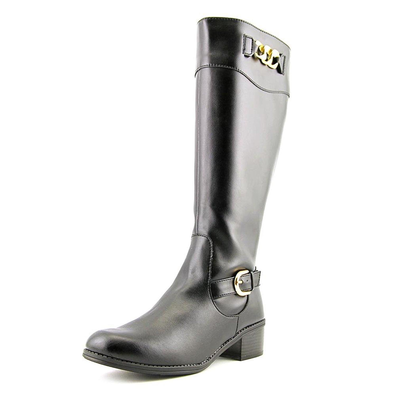 Half Height Purple Rain Boots - Wide Fit - Jileon