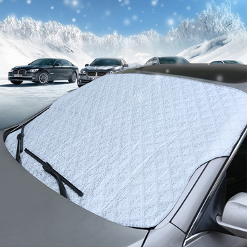 Chinese Supply Front Window Car Sun Shade For Winter
