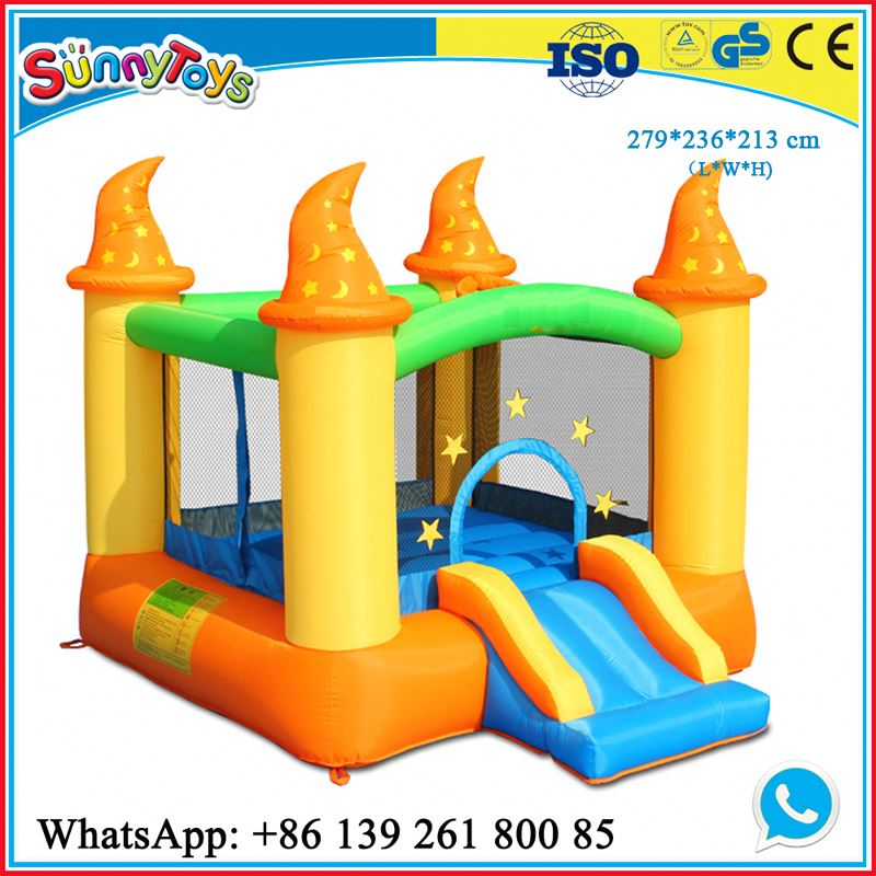 Inflatable bounce boat castle for kids commercial inflatable crocs creek bouncing castle