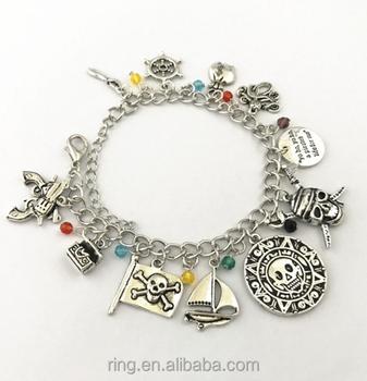 Pirates Of The Caribbean Charm Bracelet